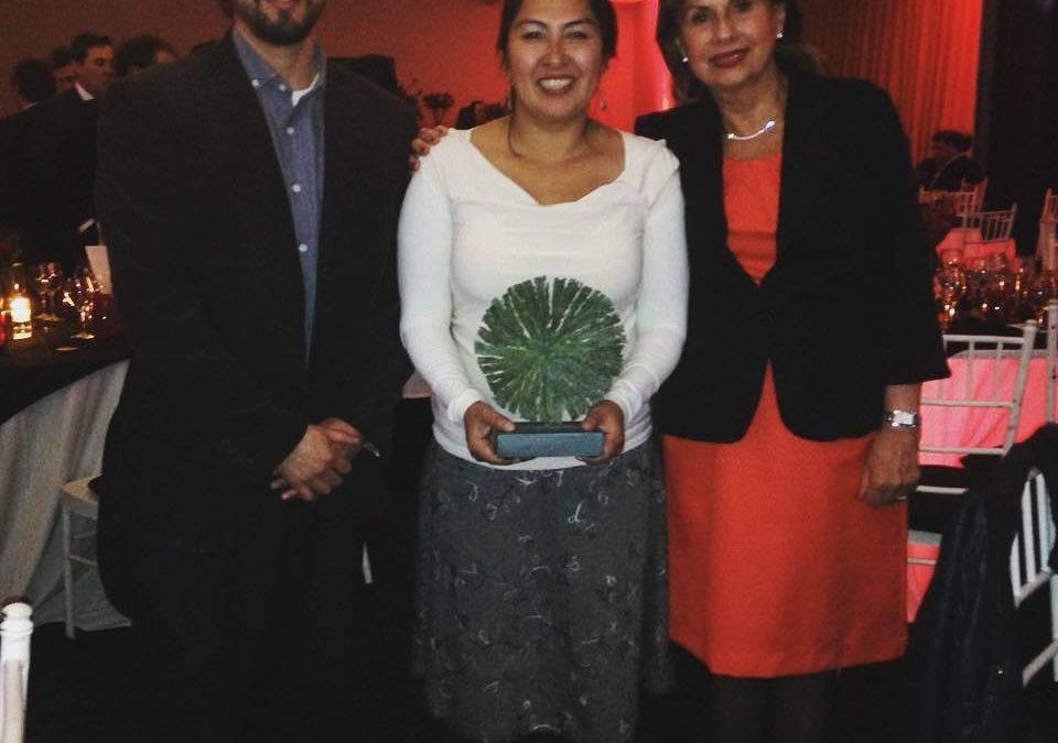 Fundación CocinaMar recibe premio Aporte a la Comunidad, Aquasur 2016