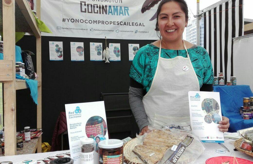 Red Cocinamar participa en Mercado Paula Gourmet